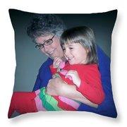Holiday Joy Throw Pillow