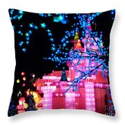 Holiday Lights 8 Throw Pillow
