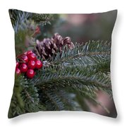 Holiday Season Throw Pillow