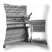 Hollerith Tabulator, 1890 Throw Pillow