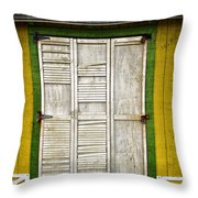 Holliwood Beach Door Throw Pillow