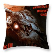 Holloweens Past Throw Pillow by David Lee Thompson