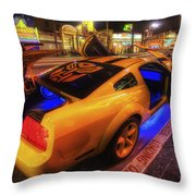 Hollywood Bumblebee Throw Pillow