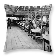 Hollywood Studio, 1923 Throw Pillow