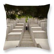 Holocaust Memorial - Berlin Throw Pillow