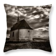 Holy Cross Chapel Throw Pillow