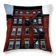 Home And Escape Throw Pillow