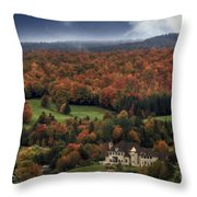 Home In Lac Megantic Throw Pillow