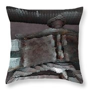 Home Planet - After The Battle Throw Pillow