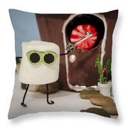 Home Sweet New Home  Throw Pillow