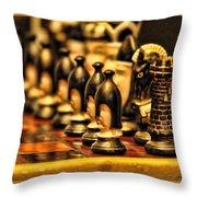 Homemade Chess Throw Pillow
