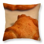 Homemade Hot Pockets Throw Pillow