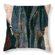 Homer: Soldier, 1864 Throw Pillow