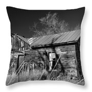 Homestead Throw Pillow by Ron Cline