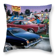 Honest Als Used Cars Throw Pillow