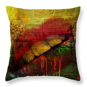 Honey Drip Throw Pillow