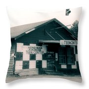 Honeybuns Fun House 1 Throw Pillow