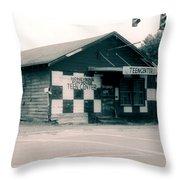 Honeybuns Fun House 2 Throw Pillow