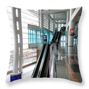 Hong Kong Convention And Exhibition Centre Throw Pillow