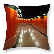 Hong Kong Subway Throw Pillow