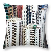Hong Kong View Throw Pillow