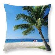 Honolulu Sun 0757 Throw Pillow