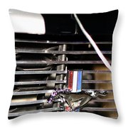 Hood Pinned Pony Throw Pillow
