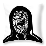 Hooded Up Throw Pillow