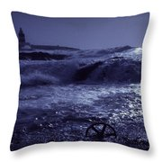 Hook Head, County Wexford, Ireland Throw Pillow