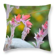 Hooked On Pink Throw Pillow