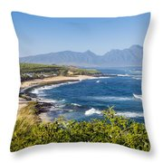 Hookipa Beach Park Throw Pillow