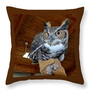 Hootin For You Throw Pillow