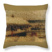 Hope For Fish Throw Pillow