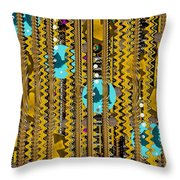 Hope The Coins Will Grow This Year Throw Pillow by Pepita Selles