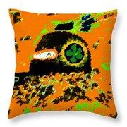 Hopi Kachina Work Number 4 Throw Pillow
