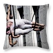 Horizontal Bow Throw Pillow