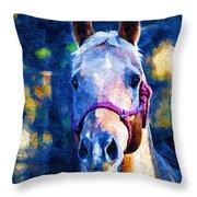 Horse Beautiful Throw Pillow