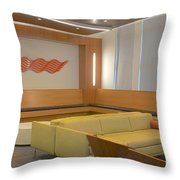 Hospital Waiting Room Throw Pillow