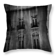 Hostel Throw Pillow