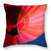 Hot Air Balloon 4 Throw Pillow
