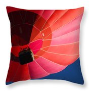 Hot Air Balloon 4 Throw Pillow