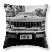 Hot Dawg At Central Park Throw Pillow