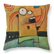 Hot Fun In The Summertime Poster Throw Pillow