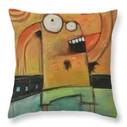 Hot Fun In The Summertime Throw Pillow