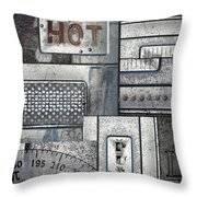 Hot Here Throw Pillow