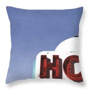Hot Throw Pillow