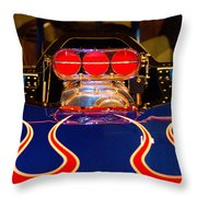 Hot Rod 1 Throw Pillow