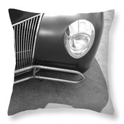 Hot Rod Grill Throw Pillow