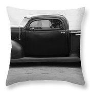 Hot Rod Pickup Throw Pillow