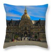 Hotel Des Invalides Throw Pillow
